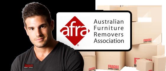 Fragile Removals is<br /> AFRA Accredited.