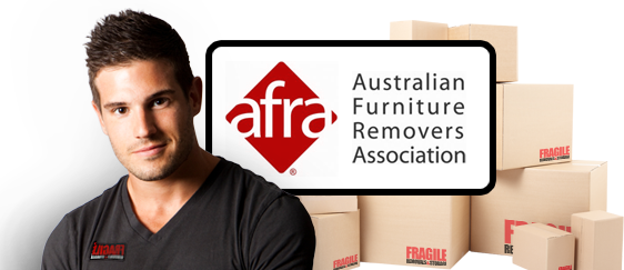 Fragile Removals is<br /> AFRA Accredited.